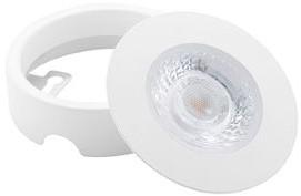 Interlight LED Inbouwspot Cabiled Opbouwring Wit