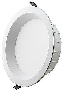 Interlight LED Downlight EasyFit IP44 40W 4000K CRI>90 4000lm Ø300 Buitenmaat - Gatmaat Ø250 - Dimbaar (2x42W)