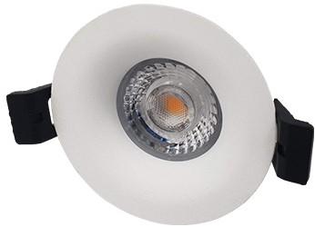Interlight LED Inbouwspot Camini IP44 Rond 8W 2700K 36D 640lm Wit Ø82 Buitenmaat - Gatmaat Ø63 - Dimbaar