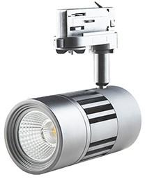 Interlight LED Railspot ColourPunch 22W 36° 3000K CRI>90 zilver