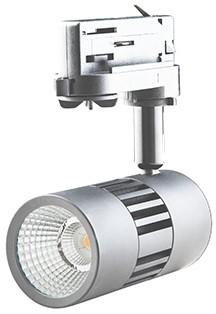 Interlight LED Railspot ColourPunch 7.5W 36° 3000K CRI>90 zilver