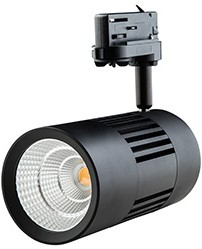 Interlight LED 3-Fase Railspot ColourPunch 30W 3000K CRI>90 36D 2647lm Zwart