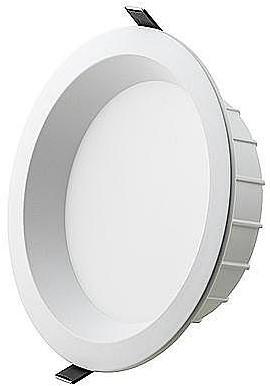 Interlight LED Downlight EasyFit IP44 40W 3000K CRI>90 4000lm Ø300 Buitenmaat - Gatmaat Ø250 - Dimbaar (2x42W)