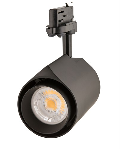 Interlight LED 3-Fase Railspot Camita ColourDrop 38W 3000K CRI>90 36D 3510lm Zwart