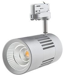 Interlight LED 3-Fase Railspot ColourPunch 30W 3000K CRI>90 36D 2647lm Zilver