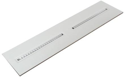Interlight LED Paneel 30x120cm Orion 28W 4000K 3606lm UGR<16 (2x28W)