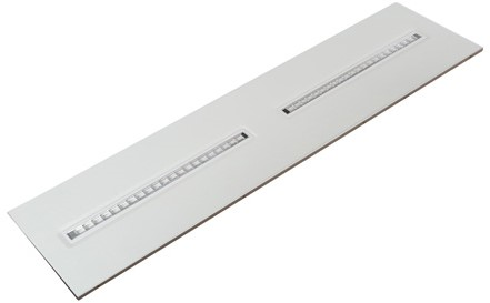 Interlight LED Paneel 30x120cm Orion 28W 3000K 3500lm UGR<16 (2x28W)