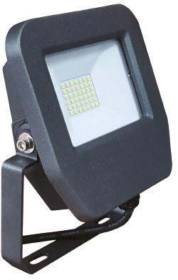 Interlight LED Breedstraler / Schijnwerper 20W 4000K IP65 IL-FB220WK4 - Vervangt 48w