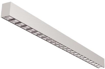 Interlight LED Pendelarmatuur Orion Linear Up/Down 29W 4000K 85D 3326lm Wit UGR<19