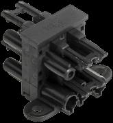GST18 T-splitter 1x Male 3x Female