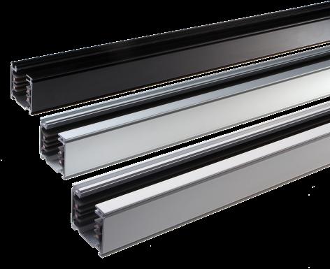 3-Fase Rail 1M Vierkant Aluminium 230V/440V 16A