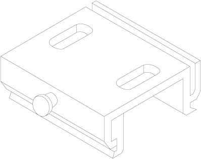 3-Fase Rail Plafond Montagebeugel