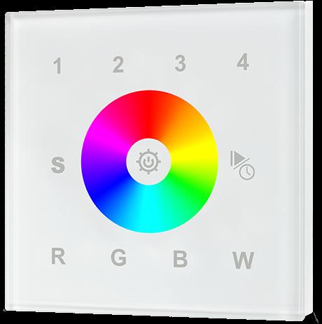 Touchdimmer RGB+Mono 4 kanalen