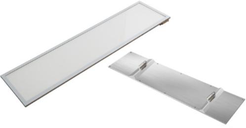 Interlight LED 3-Fase Track Paneel 30x120cm 40W 3000K CRI>90 3400lm UGR<19