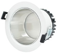 Interlight LED Downlight Creator Pro X 15W 3000K-5700K 3-CCT 1250lm Ø124 Buitenmaat - Gatmaat Ø102 - 1-10V Dimbaar (2x18W)