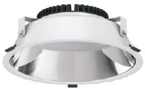 Interlight LED Downlight Creator Pro X 34W 3000K-5700K 3-CCT 3500lm Ø320 Buitenmaat - Gatmaat Ø291 - 1-10V Dimbaar (2x42W)