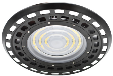Interlight LED Highbay Halo 100W 4000K 17500lm 85D Zwart UGR<22 (250W)