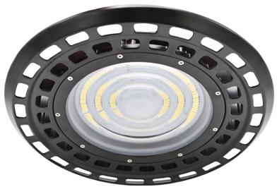 Interlight LED Highbay Halo 150W 4000K 26250lm 85D Zwart UGR<22 (400W)