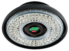 Interlight LED Highbay Vision 170W 5000K 22390lm 60D Zwart UGR<14 - 1-10V Dimbaar + Bewegingssensor (400W)