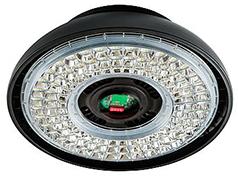 Interlight LED Highbay Vision 170W 5000K 22390lm 80D Zwart UGR<18 - 1-10V Dimbaar + Bewegingssensor (400W)