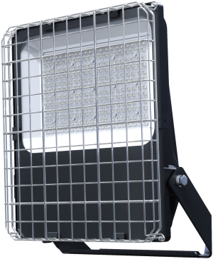 Pragmalux LED Breedstraler Auva IP66 150W Metalen Beschermkorf