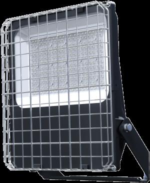 Pragmalux LED Breedstraler Auva IP66 200W Metalen Beschermkorf