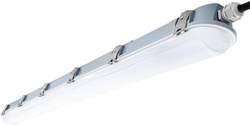 Pragmalux LED TL Waterdicht Armatuur Zeus IP66 120cm 35W 4000K 4850lm 5x2,5mm Doorvoerbedrading Philips DALI (2x36W)