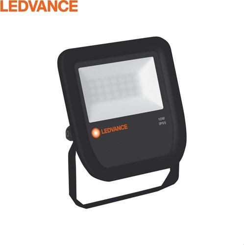 Ledvance LED Breedstraler IP65 10W 3000K 1050lm Zwart - Symmetrisch (80W)