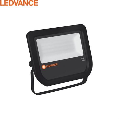Ledvance LED Breedstraler IP65 50W 3000K 5250lm Zwart - Symmetrisch (100W)