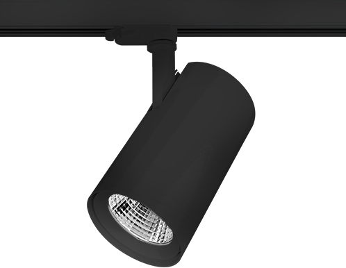 Pragmalux LED 3-Fase Railspot Accenta 24W 3000K CRI>90 36° 3078lm Zwart