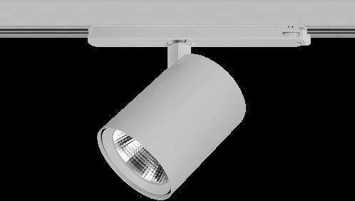 Pragmalux LED 3-Fase Railspot Alto 36W 3000K CRI>90 60D 4866lm Grijs