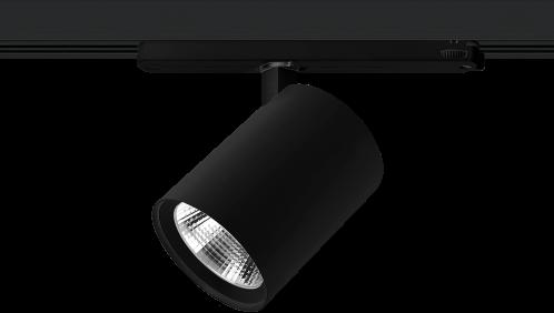 Pragmalux LED 3-Fase Railspot Alto 36W 3000K CRI>90 36D 4866lm Zwart