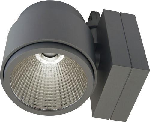 Pragmalux LED 3-Fase Railspot Mozaic 39W 4000K 60° grijs