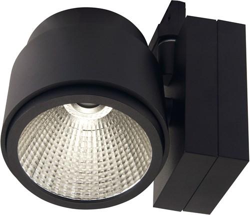 Pragmalux LED 3-Fase Railspot Mozaic 39W 4000K 24° zwart