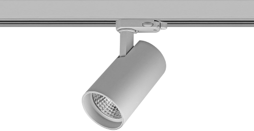 Pragmalux LED 3-Fase Railspot Piccolo 7W 3000K CRI>90 33D 722lm Grijs - Fase Dimbaar