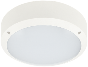Pragmalux LED Bulkhead Mono IP65 IK10 12,4W-20,6W 3000K 1000lm-1650lm Ø285