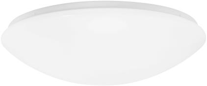 Pragmalux LED Plafonnière / Wandarmatuur Polo IP44 12W 3000K Ø280mm + Bewegingssensor - Vervangt 2x18W