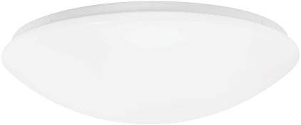 Pragmalux LED Plafonnière / Wandarmatuur Polo IP44 22W 3000K 1950lm Ø410 +Bewegingssensor (1x32W)