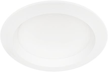 Pragmalux LED Downlight Essence 12W 3000K 1050lm Ø145 Buitenmaat - Gatmaat Ø120-130 (1x18W)