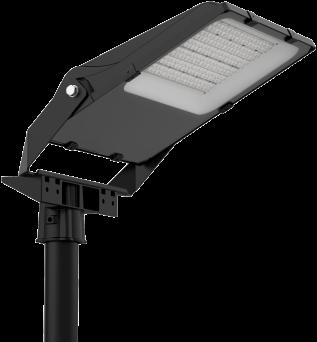 Pragmalux LED Breedstraler Auva IP66 Bevestigingsbeugel paal Ø76