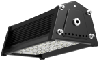 Pragmalux LED Highbay Rex 50W 4000K 6250lm 40x120D Zwart - 1-10V Dimbaar (250W)