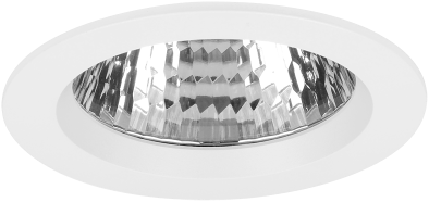 Pragmalux LED Inbouwspot Ponto Rond 32W 3000K CRI>90 36° 4350lm Ø108 Buitenmaat - Gatmaat Ø97 Wit