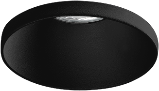 Pragmalux LED Inbouwspot Vita IP44 12W 3000K CRI>90 38D 700lm Zwart Ø82 Buitenmaat - Gatmaat Ø75 - Dimbaar