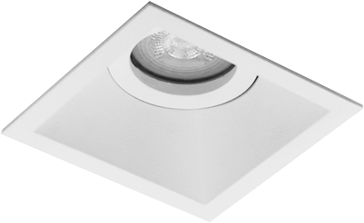 Pragmalux Inbouwspot Zena Vierkant Kantelbaar Wit - Incl. GU10 Fitting
