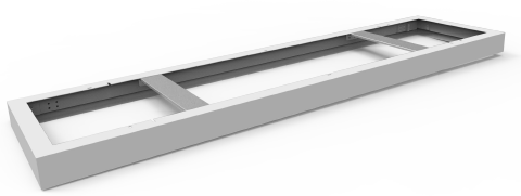 Pragmalux LED Paneel Opbouwset Snelle montage 30x120cm