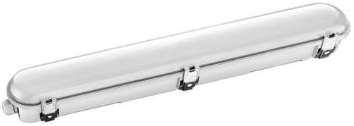 Pragmalux LED TL Waterdicht Armatuur Zeus IP66 60cm 19W 6500K 2500lm 5x2,5mm Doorvoerbedrading (2x18W)