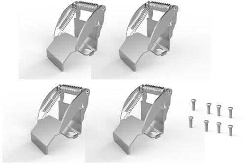 Pragmalux LED Paneel Bevestigingsclips G2 60cm/62cm/120cm (4 stuks)