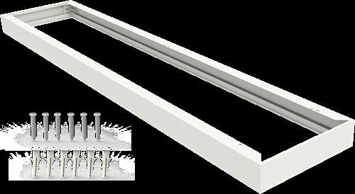 Pragmalux LED Paneel Opbouwset G2 30x120cm