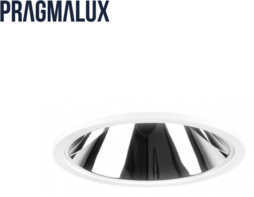 Pragmalux LED Downlight Mado 120 Darklight 28W 4000K 2680lm Ø120 Buitenmaat - Gatmaat Ø110 UGR<17