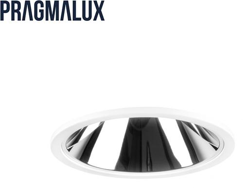 Pragmalux LED Downlight Mado 120 Darklight 28W 4000K 2680lm Ø120 Buitenmaat - Gatmaat Ø110 UGR<17